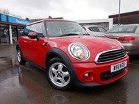 2011 MINI HATCH ONE 1.6 ONE 3d 98 BHP £5750.00