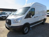 2014 FORD TRANSIT 2.2 TDCi 350 LWB Hi ROOF WITH TAIL LIFT 19716 MILES  £14995.00