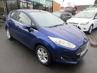 USED 2016 65 FORD FIESTA 1.2 ZETEC 5d 81 BHP MOOD LIGHTING INTERIOR..JUST ARRIVED..TEST DRIVE TODAY