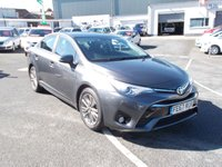2017 TOYOTA AVENSIS 2.0 D-4D BUSINESS EDITION 4d 141 BHP £14950.00