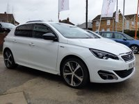 USED 2015 15 PEUGEOT 308 1.2 PURETECH S/S GT LINE 5d 130 BHP AWESOME LOOKING CAR WITH GREAT SPEC FULL HISTORY & ONE OWNER FROM NEW