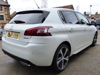 USED 2015 15 PEUGEOT 308 1.2 PURETECH S/S GT LINE 5d 130 BHP AWESOME LOOKING CAR WITH GREAT SPEC & FULL SERVICE HISTORY
