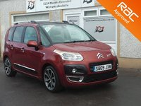 USED 2009 09 CITROEN C3 PICASSO 1.4 PICASSO EXCLUSIVE 5d 95 BHP Glass Roof , Cruise control , Aux