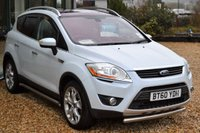 USED 2011 H FORD KUGA 2.0 TITANIUM TDCI 2WD 5d 138 BHP ** PANORAMIC ROOF ** HEATED LEATHER SEATS **