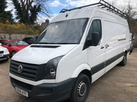 2014 VOLKSWAGEN CRAFTER 2.0 CR35 TDI HIGH ROOF LWB PANEL VAN 161 BHP £5900.00