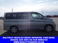 USED 2018 55 NISSAN ELGRAND E51 2.5 Highway star ***NOW ARRIVED IN THE UK*** £134.75 6mnth Tax