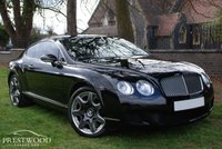 USED 2008 08 BENTLEY CONTINENTAL GT 6.0 W12 COUPE AUTO [550 BHP] MULLINER