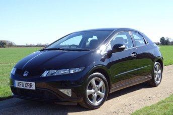 2011 HONDA CIVIC 1.3 I-VTEC SI 5d 98 BHP £5796.00