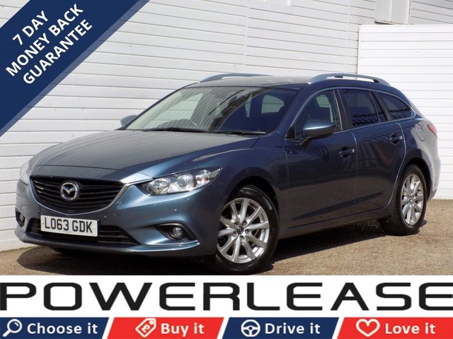 USED 2014 63 MAZDA 6 2.2 D SE-L NAV 5d 148 BHP 20 POUND TAX PARKING SENSORS