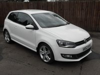 2012 VOLKSWAGEN POLO 1.2 SEL TSI 3d WITH SERVICE HISTORY AND A VERY LOW MILEAGE  £8000.00