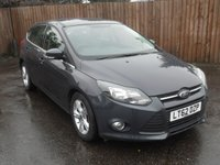 USED 2012 62 FORD FOCUS 1.6 ZETEC 5d AUTOMATIC WITH VERY LOW MILEAGE  NO DEPOSIT  PCP/HP FINANCE ARRANGED, APPLY HERE NOW
