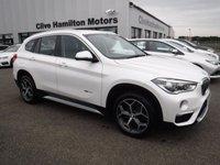 USED 2016 BMW X1 2.0 XDRIVE18D XLINE 5d 148 BHP SAT NAV, LEATHER & H/SEATS