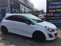USED 2013 63 VAUXHALL CORSA 1.2 LIMITED EDITION 3d 83 BHP, only 36000 miles ***GREAT FINANCE DEALS AVAILABLE***