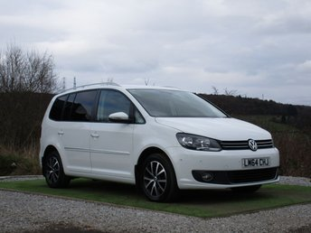 2014 VOLKSWAGEN TOURAN 2.0 SPORT TDI BLUEMOTION TECHNOLOGY DSG 5d AUTO 138 BHP £14500.00