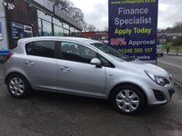 USED 2014 14 VAUXHALL CORSA 1.2 DESIGN AC 5d 83 BHP, only 36000 miles ***GREAT FINANCE DEALS AVAILABLE***