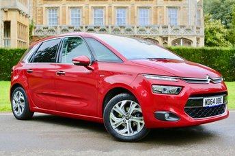2015 CITROEN C4 PICASSO 1.6 E-HDI EXCLUSIVE PLUS ETG6 5d AUTO 113 BHP £10990.00