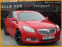 USED 2011 60 VAUXHALL INSIGNIA 2.0 SRI VX-LINE RED CDTI 5d 158 BHP *STUNNING VX-LINE IN RED*