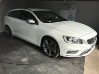 USED 2014 63 VOLVO V60 2.0 D4 R-DESIGN NAV 5d 178 BHP Only £20 a year road tax : Bluetooth   :   Satellite Navigation   :   DAB Radio   :   WI-Fi   :   R-Design steering wheel   :                      R-Design contrasting leather upholstery     :     Rear parking sensors  :                                             Fully stamped Volvo main dealer service history