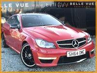 2014 MERCEDES-BENZ C CLASS 6.2 C63 AMG 2d AUTO 457 BHP £30995.00