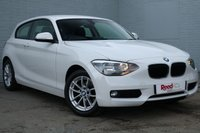 USED 2014 64 BMW 1 SERIES 2.0 116D SE 3d 114 BHP 1 OWNER + ALPINE WHITE