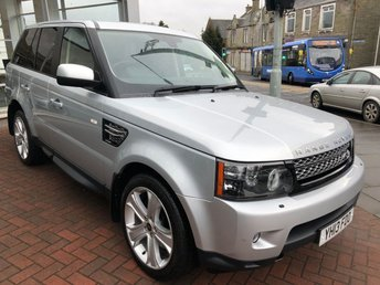2013 LAND ROVER RANGE ROVER SPORT 3.0 SDV6 HSE BLACK EDITION 5d AUTO 255 BHP £24500.00