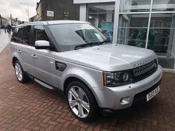 2013 LAND ROVER RANGE ROVER SPORT 3.0 SDV6 HSE BLACK EDITION 5d AUTO 255 BHP £27000.00