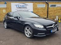 USED 2013 63 MERCEDES-BENZ CLS CLASS 2.1 CLS250 CDI BlueEFFICIENCY AMG Sport Shooting Brake 7G-Tronic Plus (s/s) 5dr FMBSH+AMG STYLE+FROM £306PM