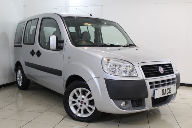 View our 2008 58 FIAT DOBLO 1.4 8V DYNAMIC H/R 5DR 77 BHP
