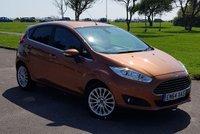 2015 FORD FIESTA 1.6 TITANIUM 5d AUTO 104 BHP £9695.00