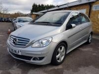 USED 2006 06 MERCEDES-BENZ B CLASS 2.0 B200 SE CVT 5dr F/S/H+AUTOMATIC+LOW MILES