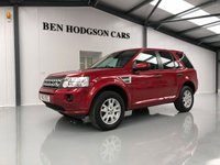 USED 2012 12 LAND ROVER FREELANDER 2.2 SD4 XS 5d AUTO 190 BHP SATNAV, PARK ASSIST, HEATED LEATHER