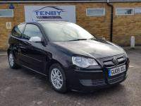 USED 2009 09 VOLKSWAGEN POLO 1.4 TDI BlueMotion Tech 1 3dr FULL SERVICE HISTORY+LOW MILES