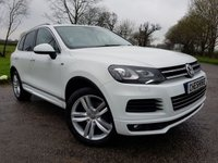 USED 2014 63 VOLKSWAGEN TOUAREG 3.0 V6 R-LINE TDI BLUEMOTION TECHNOLOGY 5d AUTO 242 BHP