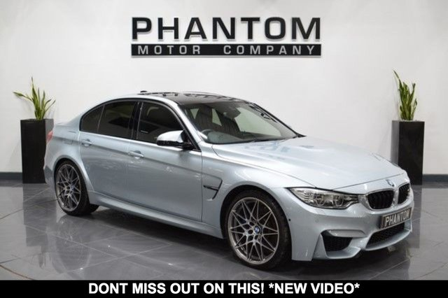 2016 BMW M3 3.0 M3 COMPETITION PACKAGE 4d AUTO 444 BHP