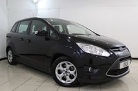 USED 2013 13 FORD GRAND C-MAX 1.6 ZETEC TDCI 5DR 114 BHP SERVICE HISTORY + 7 SEATS + PARKING SENSOR + BLUETOOTH + MULTI FUNCTION WHEEL + AUXILIARY PORT + 16 INCH ALLOY WHEELS