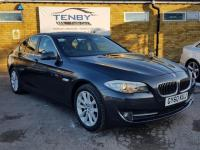 USED 2010 60 BMW 5 SERIES  2.0 520d SE 4dr FINANCE £191+HEATD LTHR+AUTO