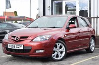 USED 2008 58 MAZDA 3 1.6 SPORT 5d 105 BHP SUPERB CONDITION VEHICLE WITH A COMPREHENSIVE SERVICE HISTORY