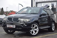 USED 2004 04 BMW X5 3.0 SPORT 24V 5d AUTO 228 BHP FULL SERVICE HISTORY, FANTASTIC CONDITION, NICE AMOUNT OF FEATURES.