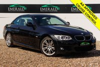 USED 2011 61 BMW 3 SERIES 2.0 320D M SPORT 2d 181 BHP £0 DEPOSIT FINANCE AVAILABLE, AIR CONDITIONING, CD/MP3/RADIO, CRUISE CONTROL, DUAL CLIMATE CONTROL, FULL CREAM LEATHER UPHOLSTERY, HARDTOP CONVERTIBLE ROOF, STEERING WHEEL CONTROLS