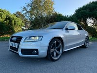 USED 2011 61 AUDI A5 2.0 TDI S LINE BLACK EDITION 2d 168 BHP TOP SPEC BLACK LTD EDITION A1 CONDITION 1ST CLASS HISTORY NEW CAMBELT CLUTCH AND FLYWHEEL
