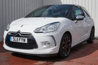 USED 2011 11 CITROEN DS3 1.6 HDI BLACK AND WHITE 3d 90 BHP LOW MILEAGE - FULL SERVICE HISTORY