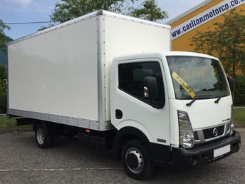 2015 NISSAN NT400 CABSTAR 3.0 DCI 35.15 145bhp LWB 15.5ft LUTON BOX VAN +T/LIFT [ LOW MILEAGE ] RWD FREE UK DELIVERY £16950.00