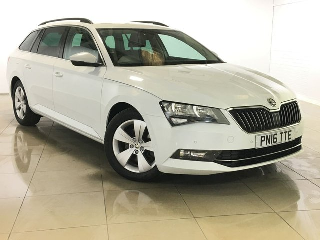 View our 2016 16 SKODA SUPERB 2.0 SE BUSINESS TDI DSG 5d AUTO 148 BHP