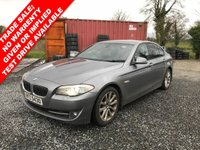USED 2010 BMW 5 SERIES 3.0 530D SE 4d 242 BHP *** MOT - 18 AUGUST 2018 ***