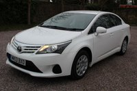 USED 2013 13 TOYOTA AVENSIS 2.0 D-4D ACTIVE 4d 124 BHP