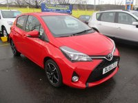 USED 2015 15 TOYOTA YARIS 1.3 VVT-I SPORT 5d 99 BHP VERY CLEAN EXAMPLE !!