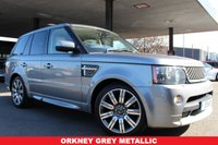 USED 2012 X LAND ROVER RANGE ROVER SPORT 3.0 SDV6 AUTOBIOGRAPHY SPORT 5d 255 BHP