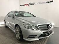 2013 MERCEDES-BENZ E CLASS 2.1 E250 CDI BLUEEFFICIENCY S/S SPORT 2d AUTO 204 BHP £14995.00