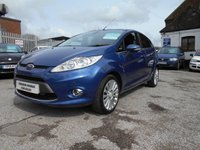 USED 2010 FORD FIESTA 1.4 TITANIUM TDCI 5d 68 BHP 1 OWNER 47,000 £30 ROAD TAX