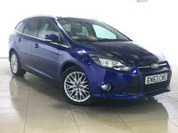 USED 2014 63 FORD FOCUS 1.6 ZETEC TDCI 5d 113 BHP Ideal First Car/Bluetooth